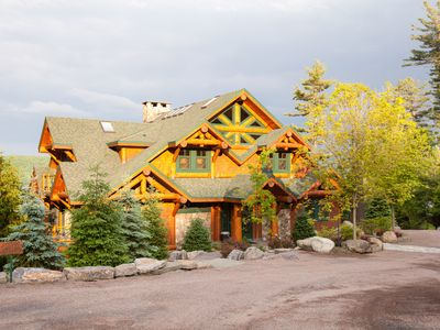 Photo for Lake Front Log Mansion, Pool, Dock, Kayaks, Clubhouse, The Best of The Best!