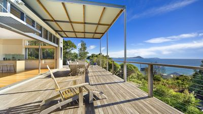 Photo for Twin Pines - luxury beach house at Seal Rocks