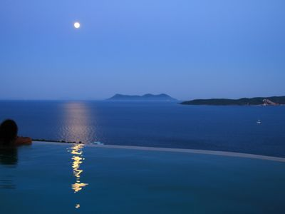 Photo for Villa Katsika, the charm and one of the best sea view on Lefkada island