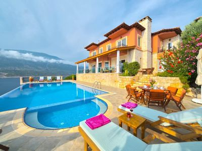Photo for Wake up and enjoy the breathtaking views in the Villa Poseidon:.An amazing plac