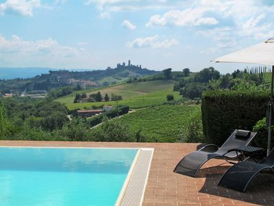 Photo for Vacation home Rampa di Fugnano Az. Agr.  in San Gimignano, Siena and surroundings - 6 persons, 2 bedrooms