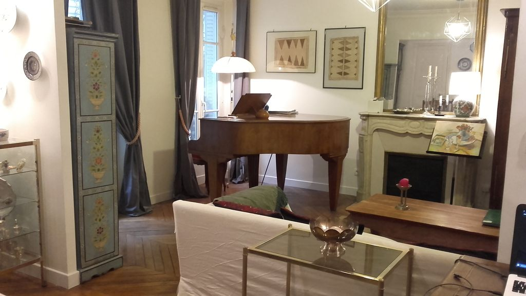 Artist Apartment With Piano 80 M2 Artment Paris City Centre