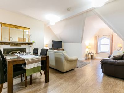 Photo for Ahoy2 is a Lovely Apartment 15 Minutes from Belfast with Sea Views. Free Wifi
