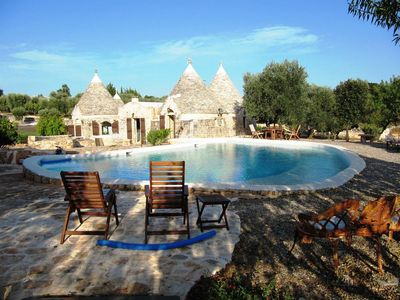 Photo for TRULLI MAGIC VALLEY SWIMMING POOL