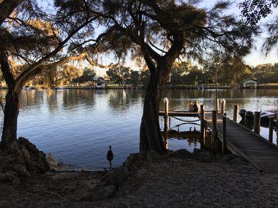 Photo for North Yunderup river front cottage on the Murray river.