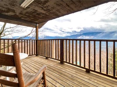 Photo for LeConte View 2, 1 Bedroom, Mountain Views, Pool Table, Sleeps 2