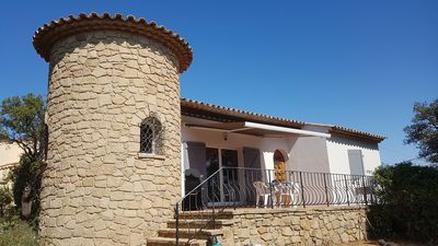 Photo for Villa completely renovated, quiet, sea view & Gulf of Saint Tropez
