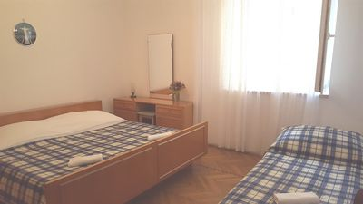 Photo for Bedroom in the center of Novalja with Parking, Balcony (667867)