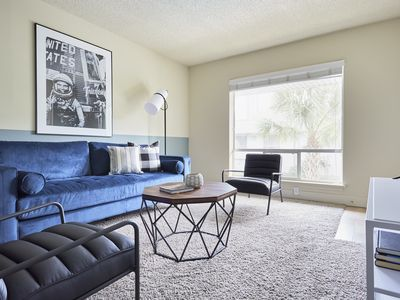 Photo for Sonder | 2306 Marquee Uptown | Central 2BR + Pool