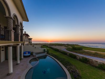 Photo for Oceanfront Private Villa on Cabo del Sol Golf Course