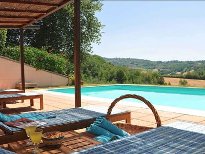 Photo for Villa L'Uliveta - Beautiful Country House with private pool near Rome