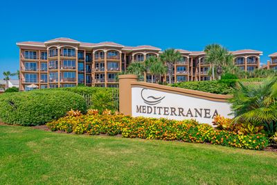 The front of the Mediterranea!