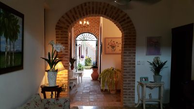 Photo for Colonial Zone Large 3 Bed Apartment 3 Bathroom With Large Courtyard