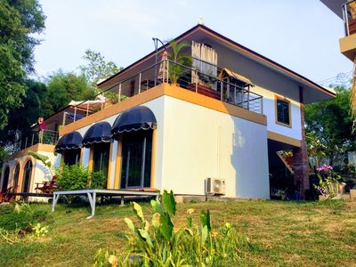 New House Modern In Front Of The Namkhan River Luang Prabang