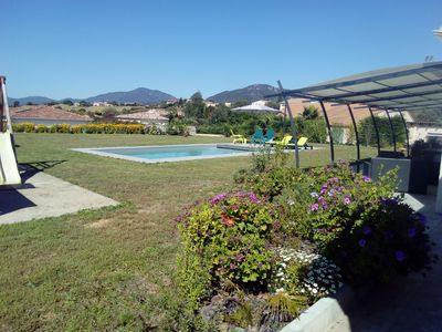 Photo for CHARMING AIR CONDITIONED VILLA WITH SWIMMING POOL AT THE DOORS OF AJACCIO AND ITS BEACHES