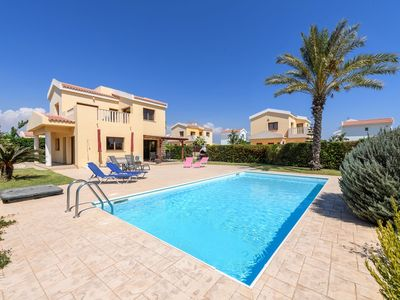 Photo for Villa With Private Pool, Landscaped Gardens And Balcony Sea Views. FREE WIFI
