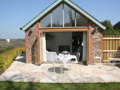 Photo for South Milton.Stunning New Stone cottage close to beautiful beaches