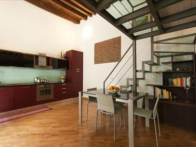 Photo for DELIGHTFUL NAVIGLI LOFT