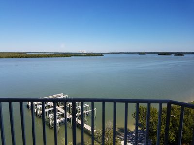Photo for Beautiful Water View of Estero Bay Unit 602! Summer Sale! Watch Dolphins Play!