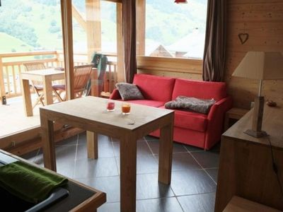Photo for Apartment ARÊCHES, 2 bedrooms, 5 persons