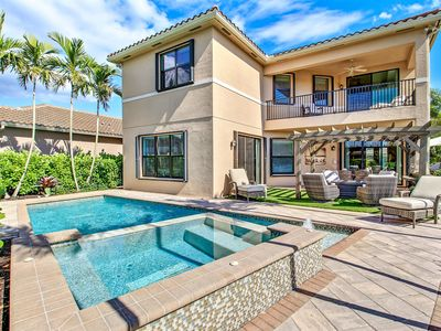 Photo for New Listing! Luxurious 4,113 Square Foot Villa w/ Pool, Spa & Balcony