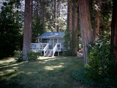 Photo for Lakefront Romantic Getaway -- The Little Blue Cabin