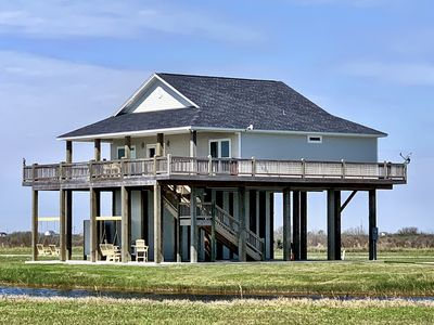 Photo for SEA SHIFT - Gorgeous, Gulf View - 3 Bedroom, Sleeps 9!