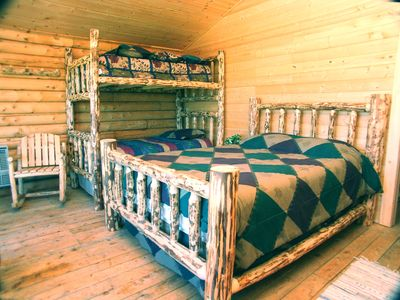 Photo for Quite, rustic, comfortable room.
