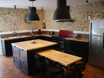 Photo for Large village house in Gard Provencal