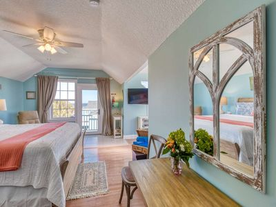 Photo for Beachcomber Penthouse at Vilano- Luxurious Retreat with Ocean Views from King Bed, Free Attractions