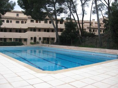 Photo for Nice T2 st Raphael 5 people in quiet residence 300m beach / pools