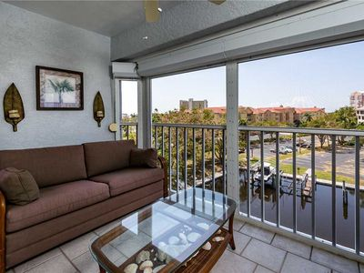 Photo for Royal Pelican 491,  Sleeps 6, Canal View, 2 Bedrooms,  Heated Pool, Elevator