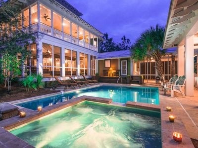 Photo for Forest District Home - Private Pool - Impeccable Porch Space