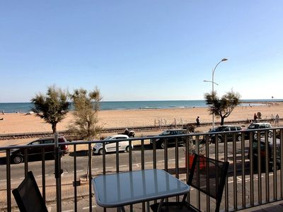 Photo for Facing the sea, beautiful apartment for 5 people, close to all shops Ref. 2904