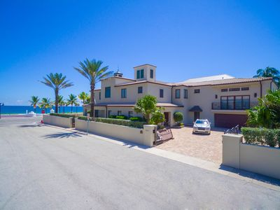 Photo for June Special! Beach Mansion, Luxury 9 BR Oceanfront Estate.
