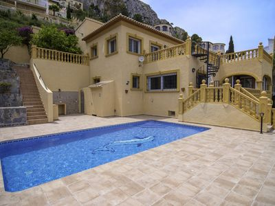 Photo for PITUFOS, villa in Calpe-Maryvilla with panoramic views, free wifi