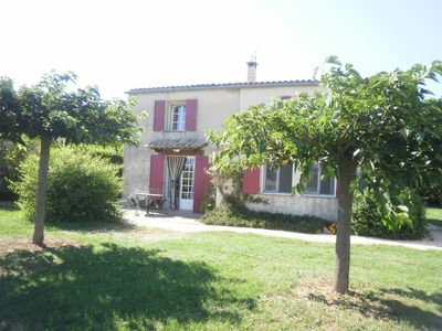 Photo for HOUSE 6PERS GARDEN BETWEEN VENTOUX AND LUBERON IN PEACE NEAR SIMIANE LA ROTOND