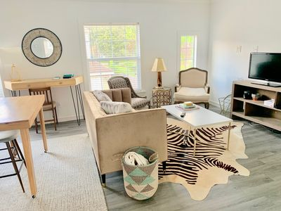 Photo for New Listing, Newly remodeled Garage Apt , 1.5 miles from the Heart of the Height