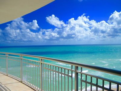 Photo for Luxury Ocean Front 2 Bedroom with Huge Wrap Around Balcony overlooking Ocean
