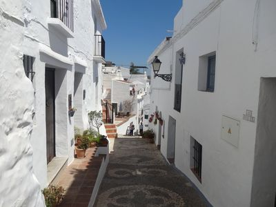 Photo for Traditional Andalucian Townhouse in the  heart of the Old Town Frigiliana