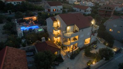 Photo for Villa Kos - A-5, Apartment for 2-4, with Swimming pool (2+2)