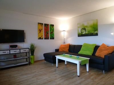 Photo for Modern designed 1-bedroom apartment in a central location in Timmendorfer beach.