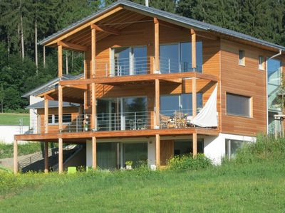 Photo for Dream vacation in the Allgäu in the eco-house with free view of nature