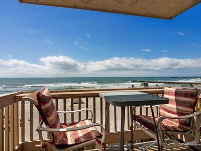 Photo for Get in lost in the blue horizon from this gorgeous 2 BR beach condo!