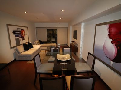 Photo for Beautiful Flat Apartment in Surco, close to El Polo