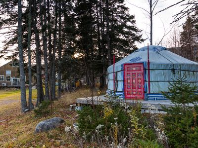 Photo for Little Red Yurt at Cabot Shores Wilderness Resort