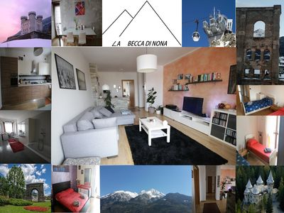 Photo for AOSTA A FEW STEPS FROM THE HISTORICAL CENTER, 1.5 KM FROM THE CABLE CAR BATTERY
