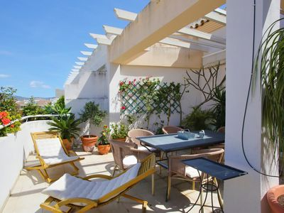 Photo for Marbella luxury penthouse with 3 private terraces. 2 min from the beach!