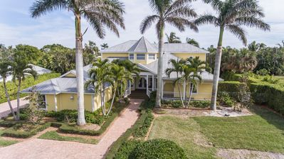 Photo for 4 BR LUXURY BEACH POOL HOME. Pet friendly. Minutes to Beach. Sleeps 10