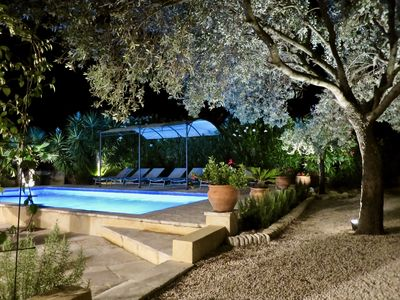 Photo for Provencal villa in a quiet location in the golf of ST TROPEZ